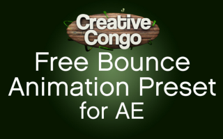 Free Bounce Expression Animation Presets